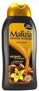 Malizia Argán és Vanília Tusfürdő