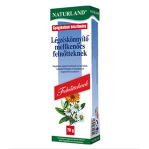 Naturland Légzéskönnyítő Mellkenőcs Felnőtteknek