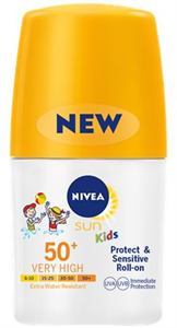 Nivea Sun Protect & Sensitive Gyermek Golyós Napozó FF50+