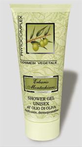 Erbario Montechiaro Shower Gel Unisex all' Olio di Oliva