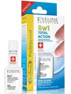 Eveline 8W1 Total Action Körömápoló Koncentrátum