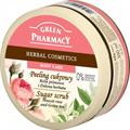 Green Pharmacy Gyógynövényes Testradír Muscat Rózsa és Zöld Tea Kivonattal