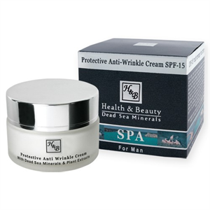 Health & Beauty Férfi Ránctalanító és Bőrvédő Arckrém SPF15