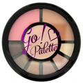 I Heart Makeup Go! Szemhéjpúder és Kontúr Paletta