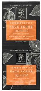 Apivita Express Beauty Face Scrub With Apricot