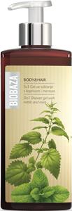 Biobaza 3 az 1-ben Tusfürdő Gél - Csalán és Menta