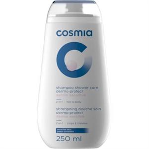 Cosmia 2-in-1 Dermo-Protect Tusfürdő és Sampon