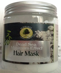 Schwartz Natural Cosmetics Dead Sea Maximum Effect Hair Mask
