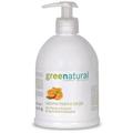 Greenatural Menta és Narancs Gyengéd Folyékony Szappan