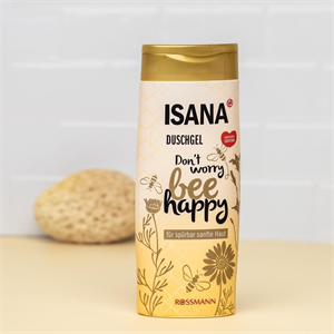Isana Don't Worry Bee Happy Tusfürdő