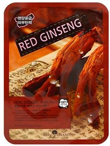 May Island Red Ginseng Real Essence Mask