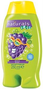 Avon Naturals Kids Könnymentes Szőlős Tusfürdő és Habfürdő
