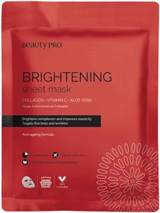 Beautypro Brightening C Vitamin + Kollagén Maszk