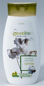 Aroma Greenline Hidratáló Tusolókrém-Pamut