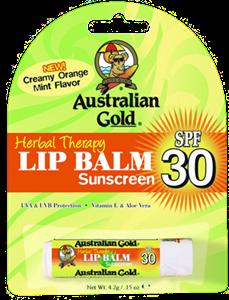 Australian Gold Lip Balm Sun Screen SPF30