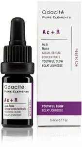 Odacité Skincare Ac+R (Acai Bogyó + Rózsa) Fiatalos Ragyogás Szérum