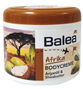 "Balea ""Afrika"" Testkrém"