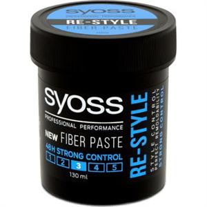 Syoss Re-Style Fiber Paste Újraformázható Hajformázó Krém