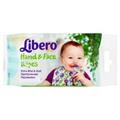 Libero Baby Care Kéz és Arc Törlőkendő
