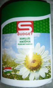S Budget Kamillás Hintőpor