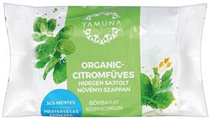 Yamuna Organic-Citromfüves Hidegen Sajtolt Növényi Szappan