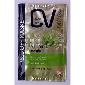 CV Cadea Vera Peel-Off Maske 25+ Bőrradírozó Arcmaszk Sóska & Gránátalma-Kivonat