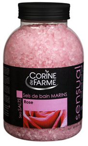 Corine De Farme Rózsa Illatú Érzéki Fürdősó