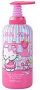 Hello Kitty Habfürdő és Tusfürdő Gél 2in1 Gyermekeknek