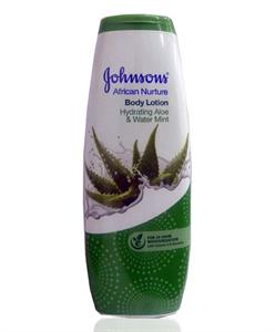 Johnson's African Nurture Aloe&Water Mint Testápoló