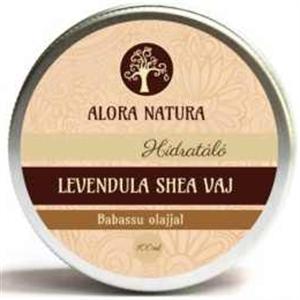 Alora Natura Levendula Shea Vaj Babassu Olajjal