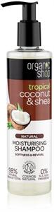 Organic Shop Natural Coconut & Shea Hidratáló Sampon Száraz és Sérült Hajra