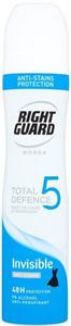 Right Guard Total Defence 5 Invisible Női Izzadásgátló Dezodor