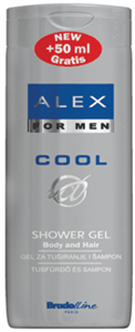 Alex Cool Shower Gel + Shampoo