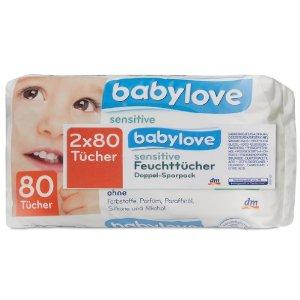 Babylove Comfort Popsitörlő Kendő Sensitive