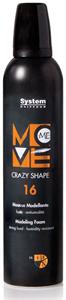 Dikson Move Me 16 Crazy Shape Extra Erős Hajhab