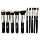 Jessup 10 Pcs Kabuki Brush Set