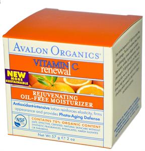 Avalon Organics Olajmentes Hidratáló Krém C-Vitaminnal