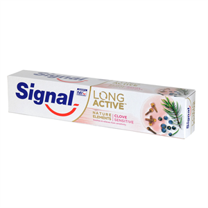 Signal Long Active Nature Elements Clove Sensitive Fogkrém