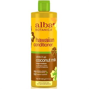 Alba Botanica Natural Hawaiian Conditioner - Drink It Up Coconut Milk