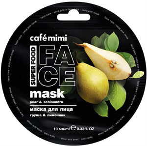 Café Mimi Pear & Schisandra Face Mask