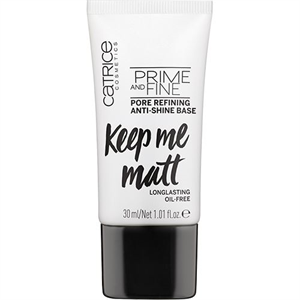 Catrice Prime And Fine Pore Refining Mattító Alap