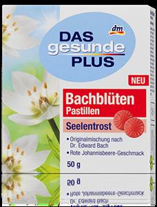 Das Gesunde Plus Bach virágpasztilla