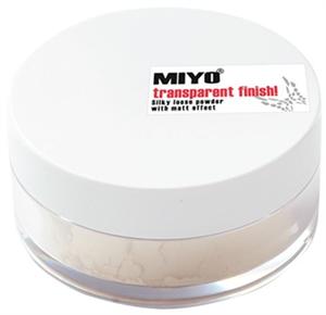 Miyo Transparent Finish Loose Powder