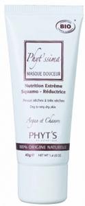 PHYT'S PHYT'Ssima Masque Douceur - Intenzív tápláló bio pakolás argánolajjal extra száraz, érzékeny bőrre