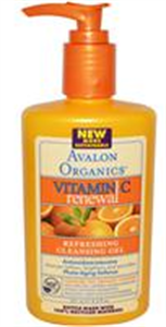 Avalon Organics C-Vitaminos Frissítő Arclemosó Gél