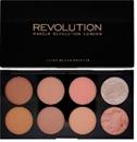 MakeUp Revolution Ultra Blush Pirosító Paletta - Hot Spice