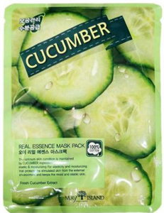 May Island Cucumber Real Essence Mask Pack
