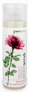 Greenland Pure & White Bolgár Rózsa és Pacsuli Testradír