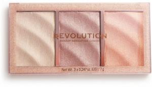 Revolution Precious Stone Rose Quartz Highlighter Paletta