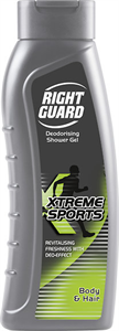 Right Guard Deodorising Xtreme Sports Tusfürdő
